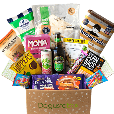 Degustabox UK March 2019 Spoiler – First Box £7.99 + Free Gift!
