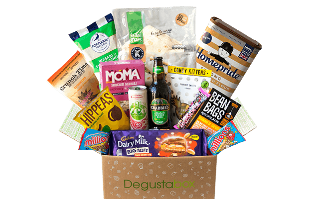 Degustabox UK October 2018 Spoiler – First Box £7.99 + Free Gift!