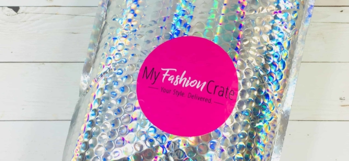 My Fashion Crate September 2018 Subscription Box Review