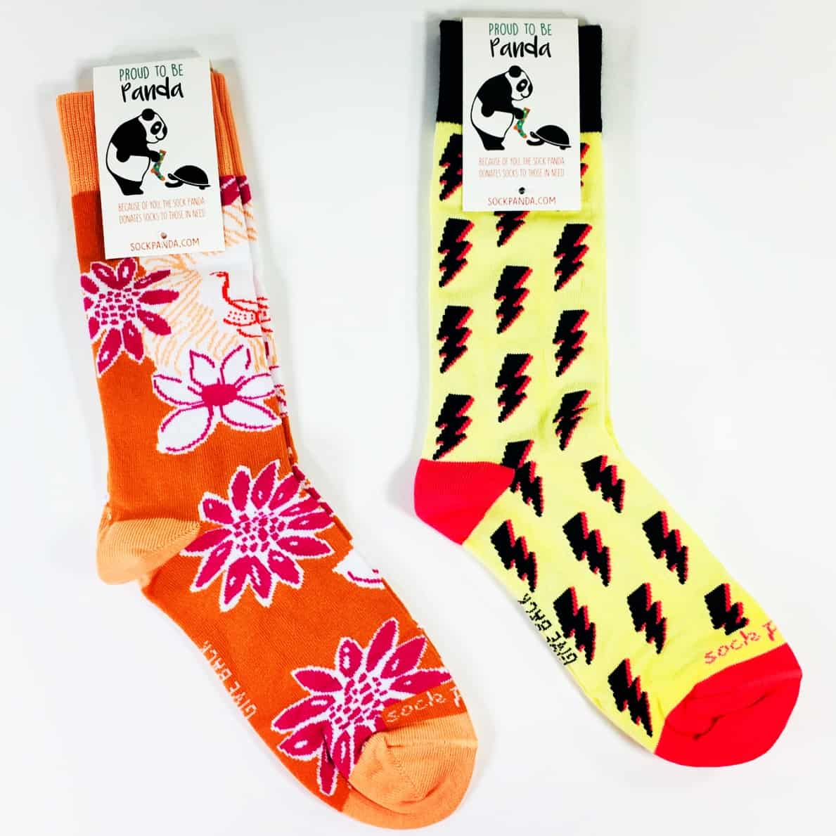 Sock Panda Women Socks September 2018 Subscription Review + Coupon