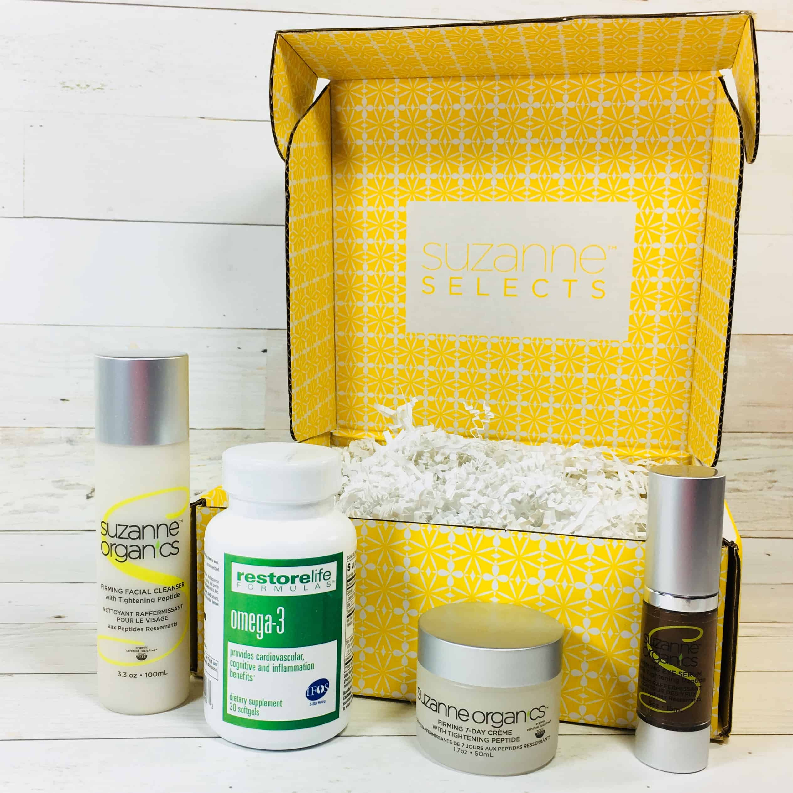 Suzanne Selects The Firming Peptides Box Review