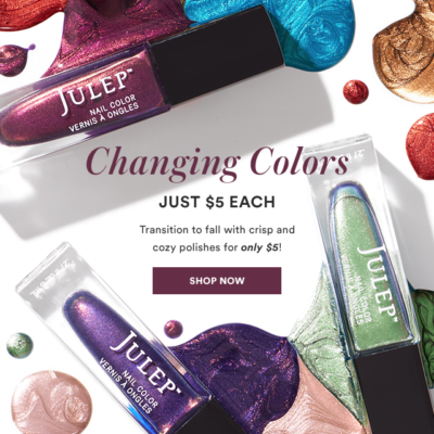 $5 Polish Sale at Julep!