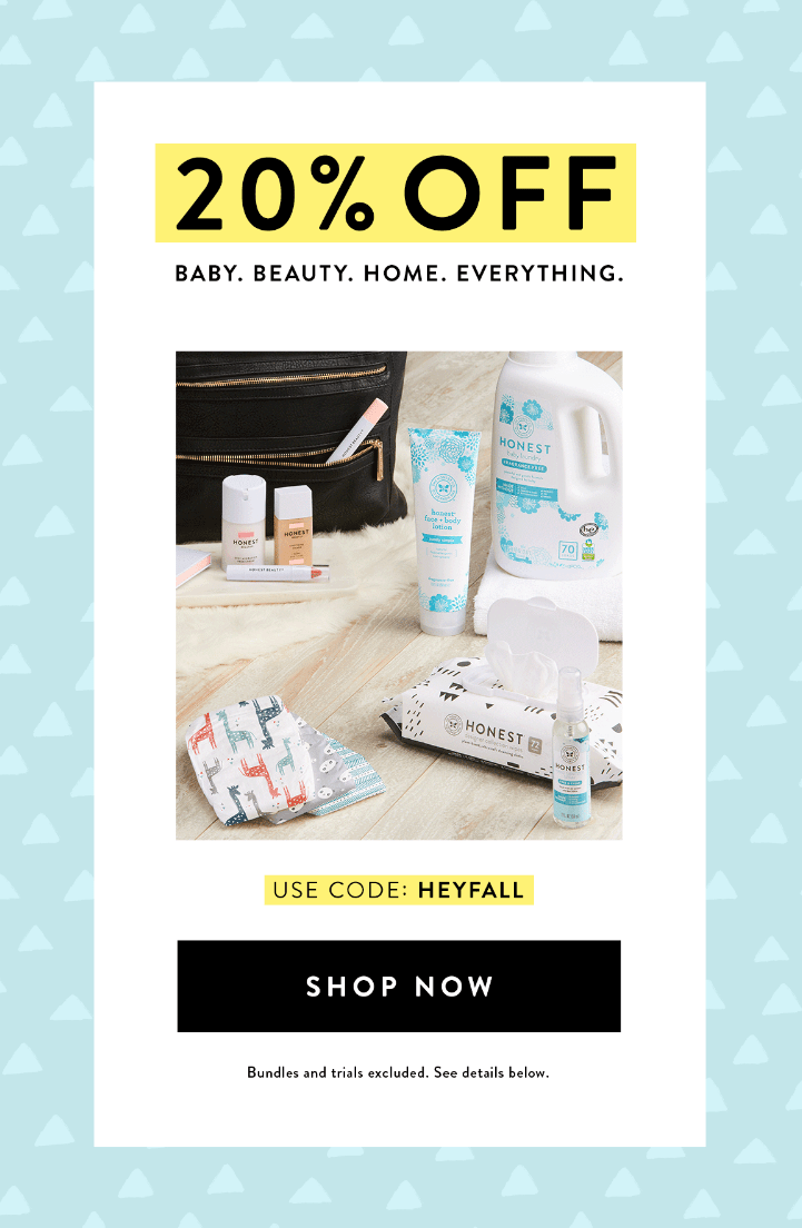 Honest Company Coupon: Save 20% Sitewide!