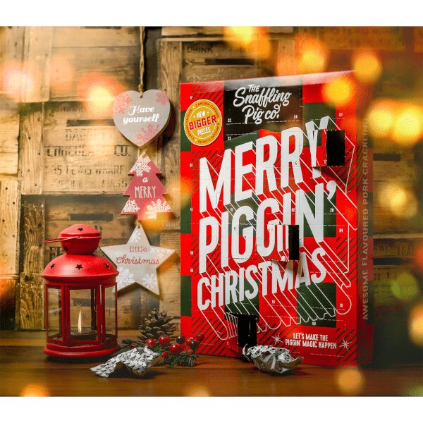 The 2018 Snaffling Pig Pork Crackling Advent Calendar Available Now!