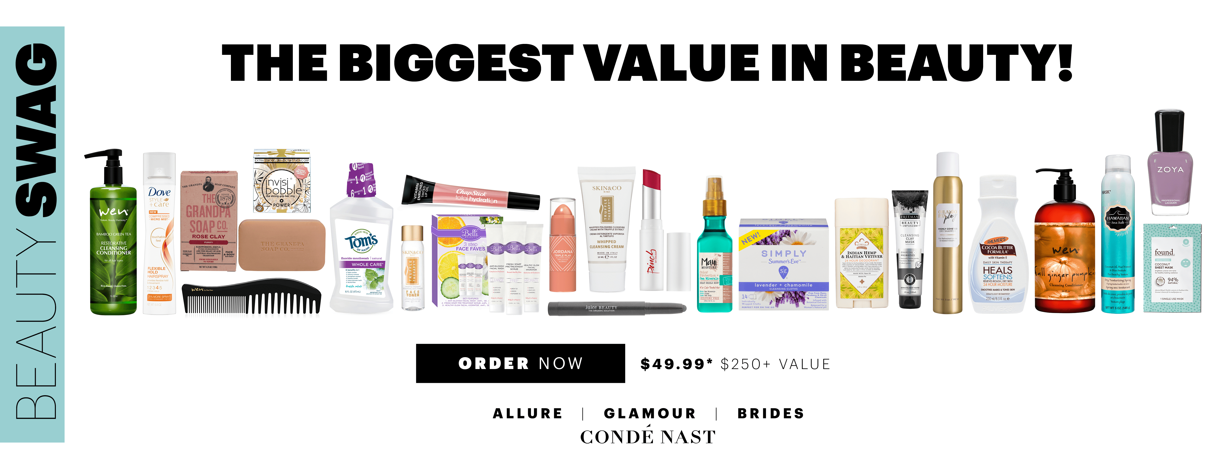 Allure Beauty Swag Box September 2018 Available Now!