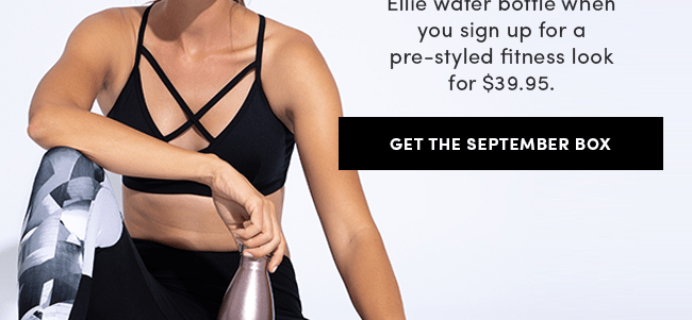 Ellie Promo: Get a FREE Water Bottle With Your First Box + 25% Off!