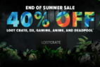 Loot Crate Coupon: Get 40% Off Select Crates! LAST DAY!