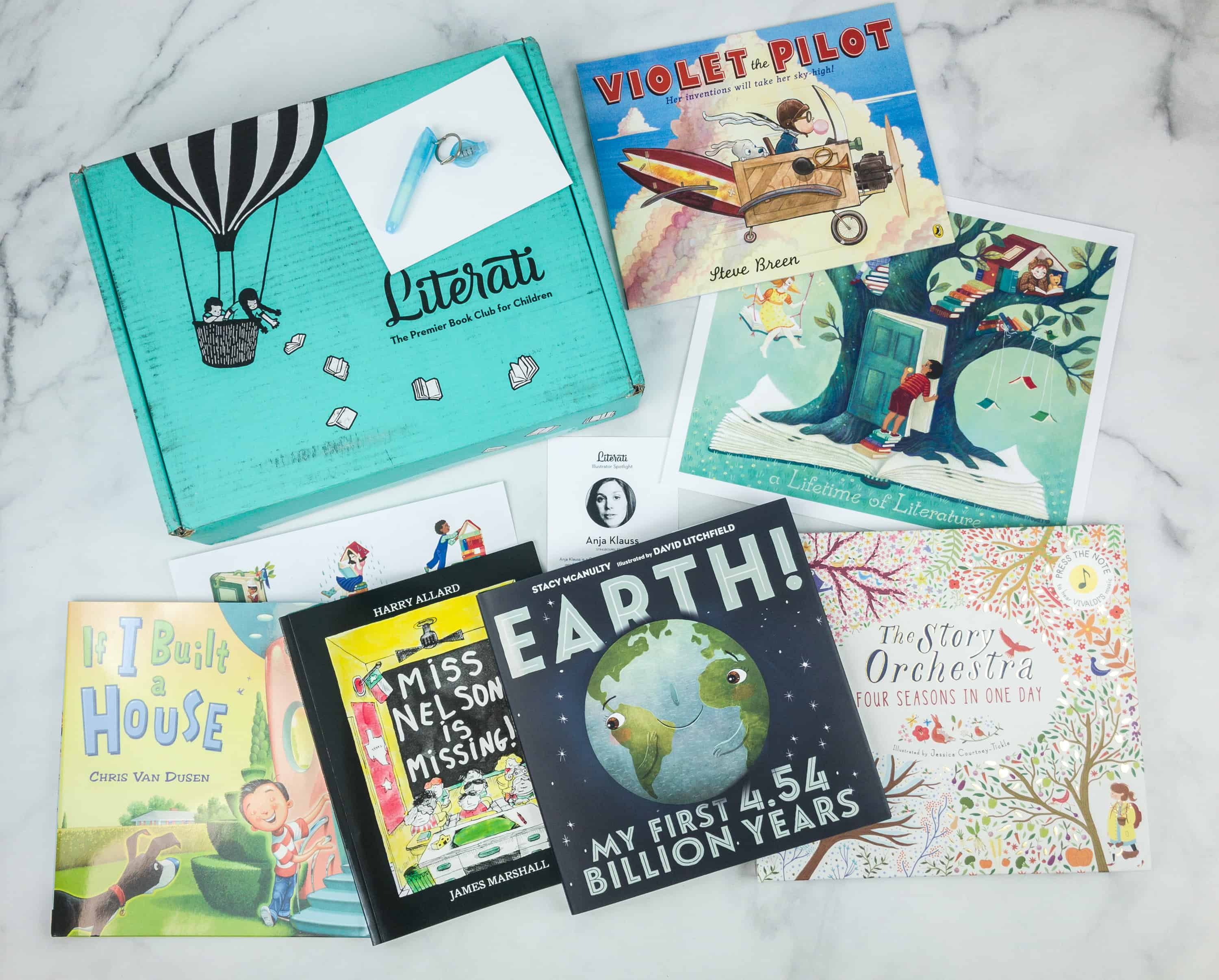 Literati Club Nova Box Review + Coupon – September 2018 Welcome Box