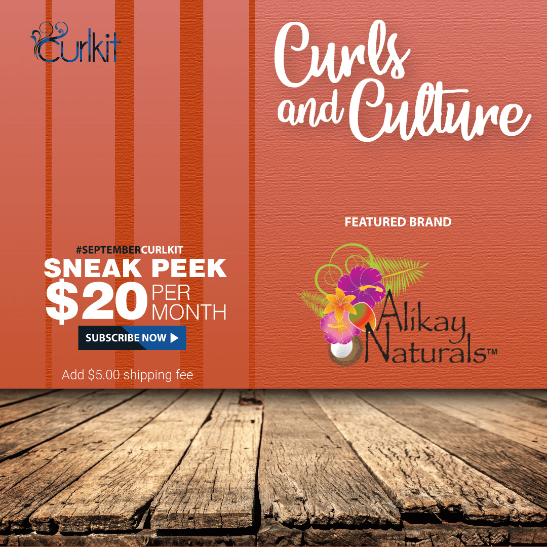 September 2018 CurlKit Theme Spoilers + Coupon!