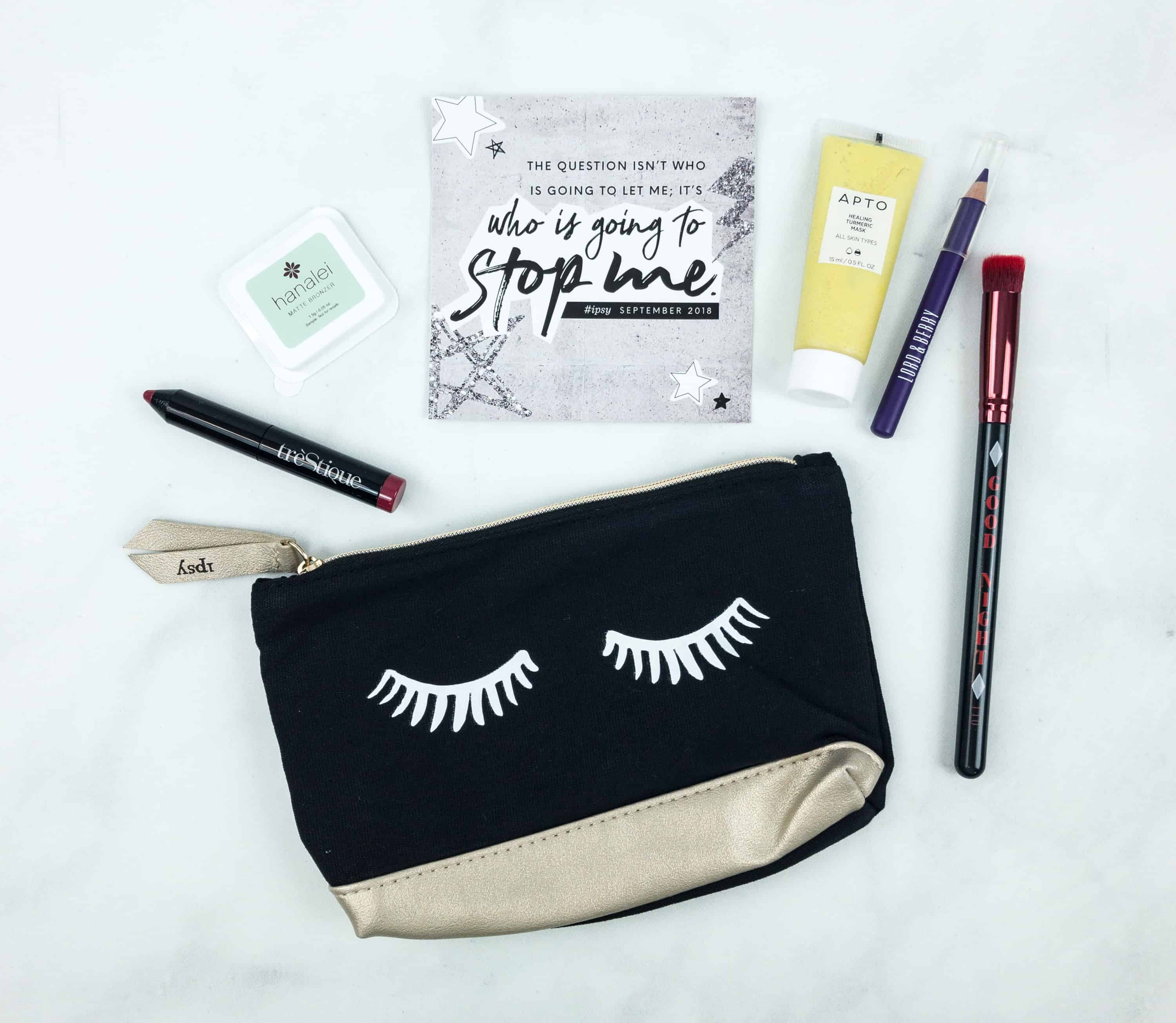 Ipsy September 2018 Review