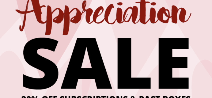 Cocotique Customer Appreciation Sale: 20% off all Subscriptions & Past Boxes – LAST DAY!