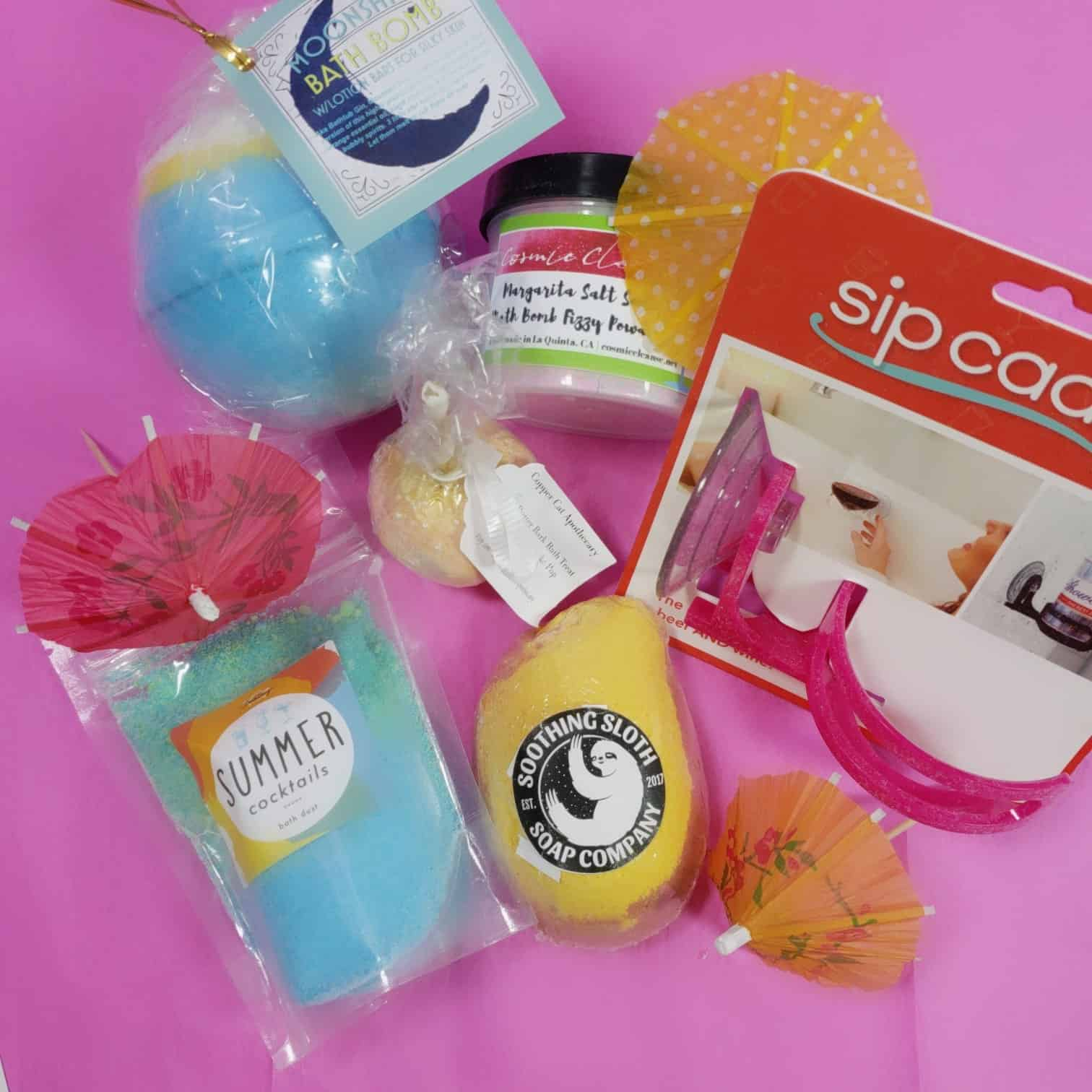 Bath Bevy July 2018 Subscription Box Review + Coupon