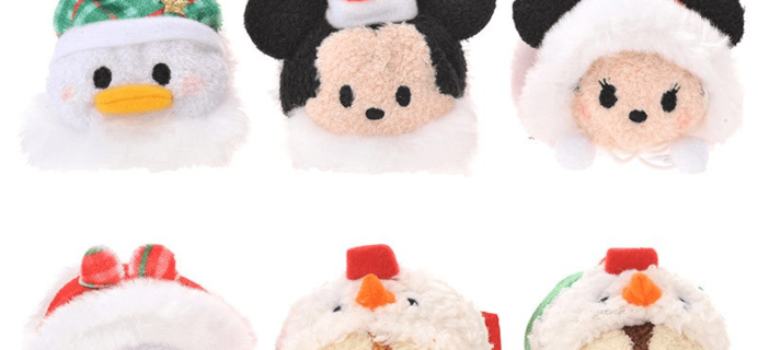 2018 Plush Tsum Tsum Disney Store Exclusive Advent Calendar Coming Soon!