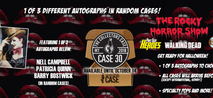 The Collectors Case October 2018 Spoilers!