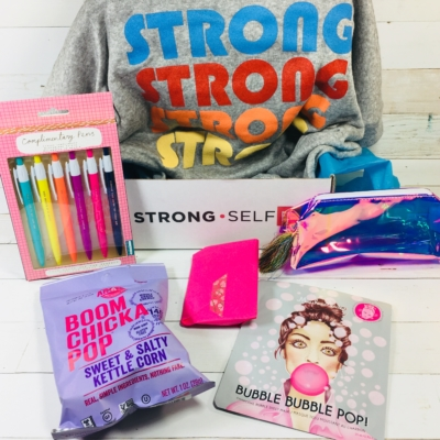 STRONG self(ie) Subscription Box Review – Fall 2018 BURST (box)