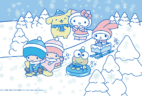 Sanrio Small Gift Crate Winter 2018 Theme Spoilers + Coupon!