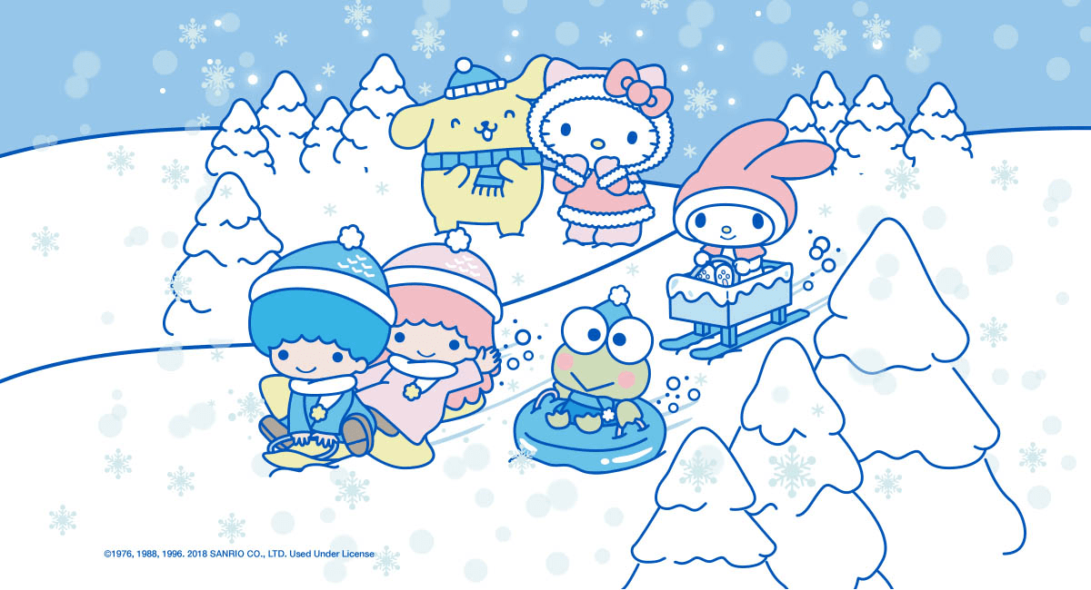Sanrio Small Gift Crate Winter 2018 Full Spoilers