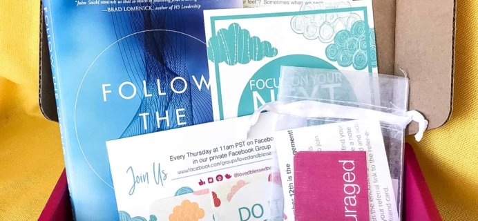 Loved+Blessed September 2018 Subscription Box Review + Coupon
