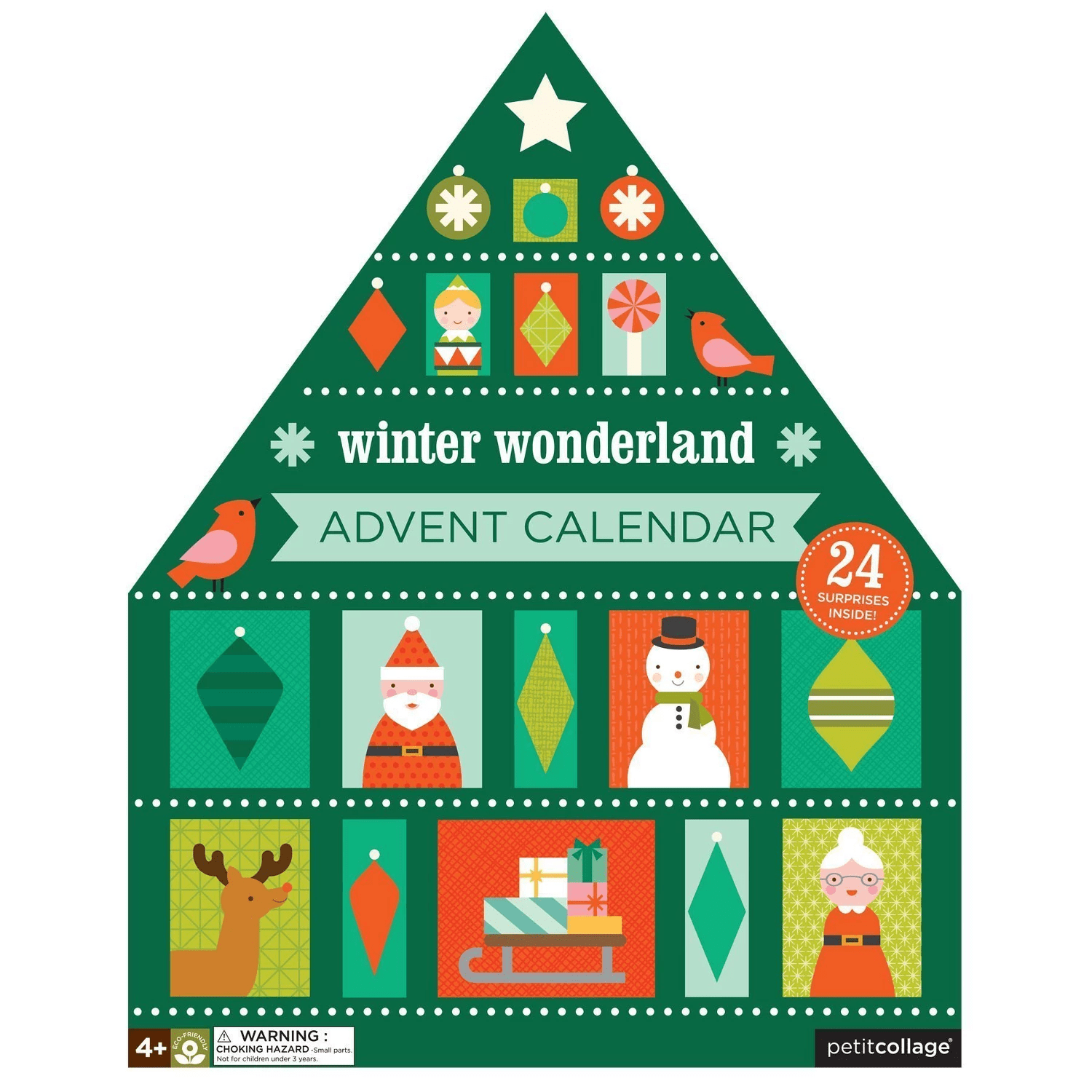 2018 Petit Collage Advent Calendar Available Now!