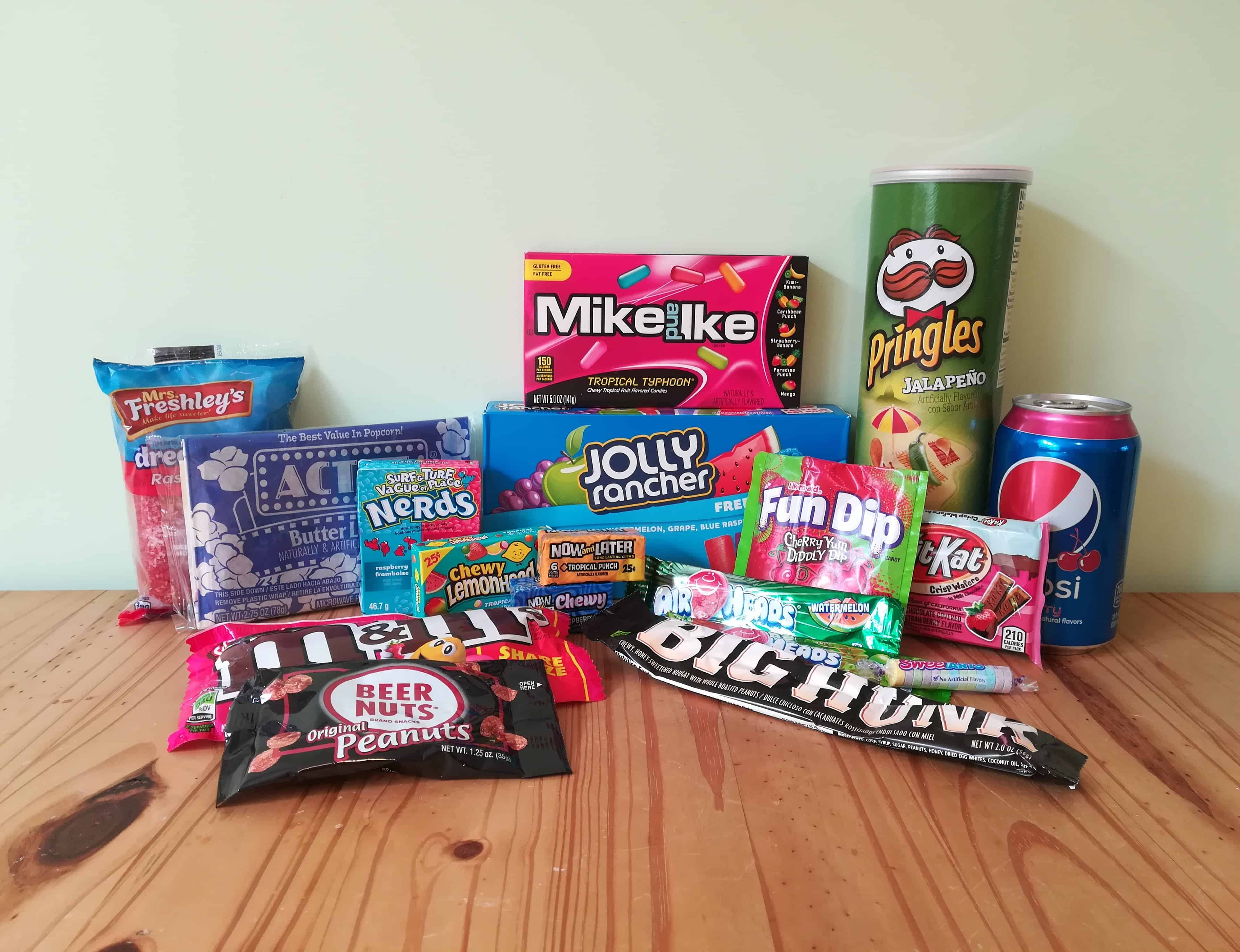 Taffy Mail Subscription Box Review