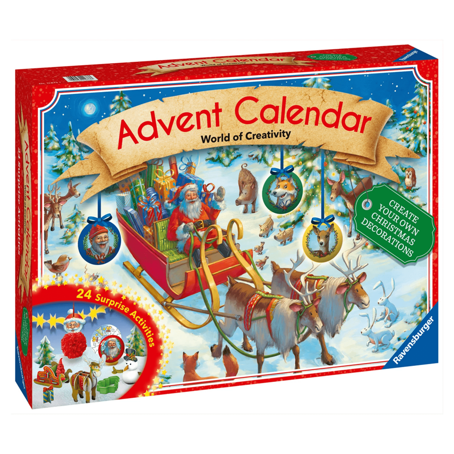 World of Creativity Advent Calendar 2018 Available Now!