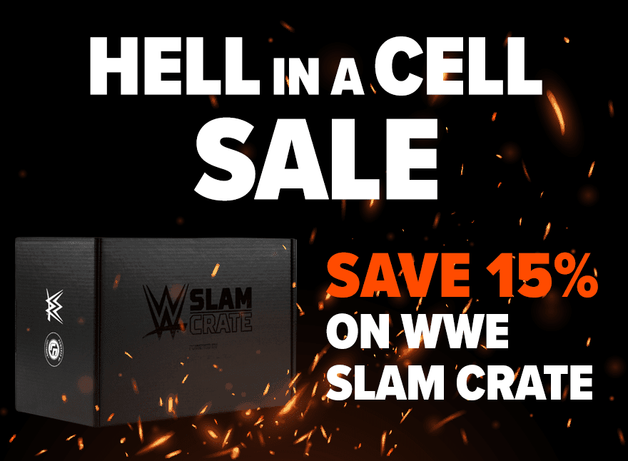 WWE Slam Hell in Cell Sale: Get 15% Off – TODAY ONLY!