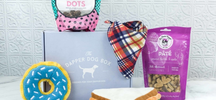 The Dapper Dog Box September 2018 Subscription Box Review + Coupon