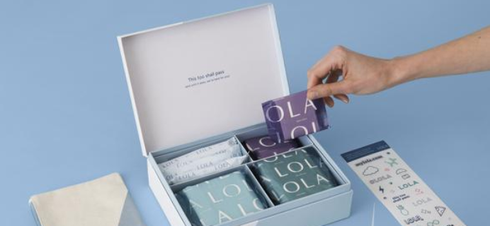 LOLA First Period Kit Available Now!