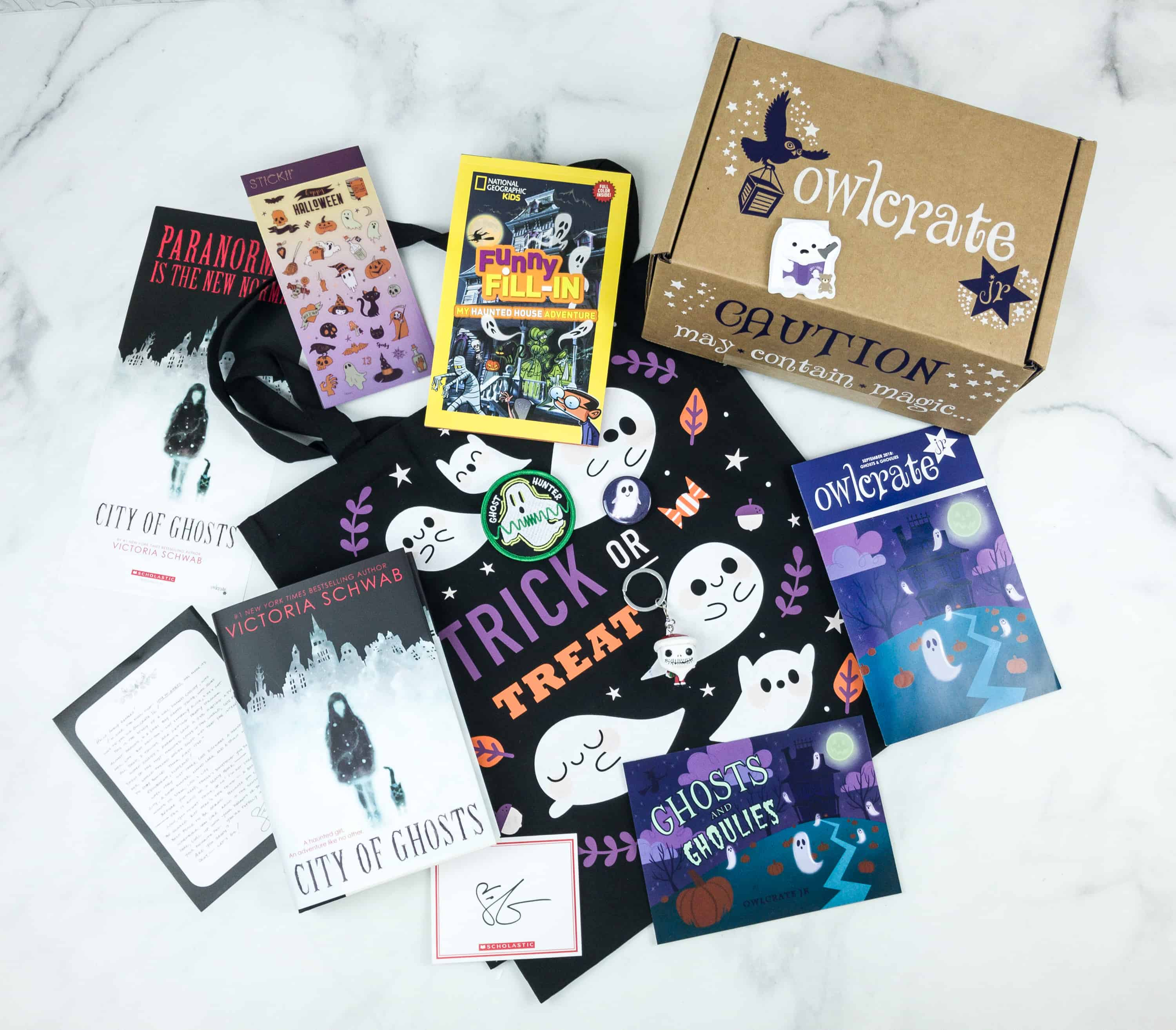 OwlCrate Jr. September 2018 Box Review & Coupon