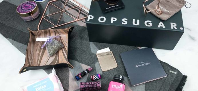 POPSUGAR Must Have Box Fall 2018 Review & Coupon