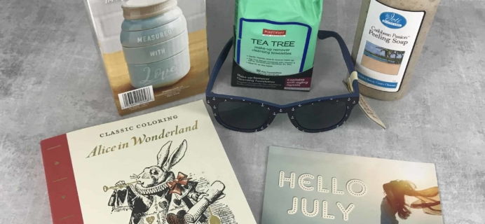 Peaches and Petals July 2018 Subscription Box Review & Coupon