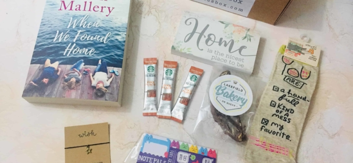 Sweet Reads Box September 2018 Subscription Box Review + Coupon