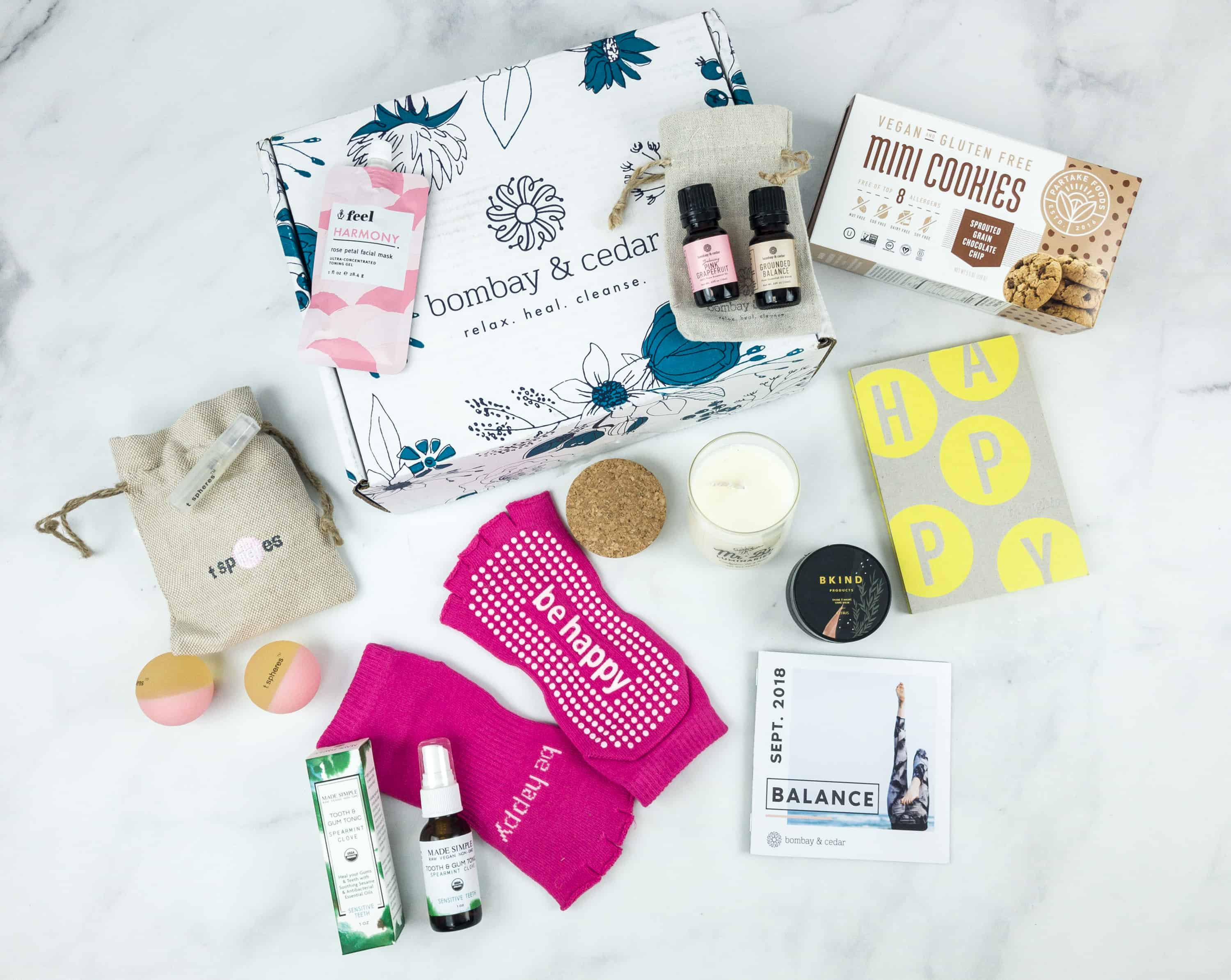Bombay & Cedar September 2018 Subscription Box Review + Coupon