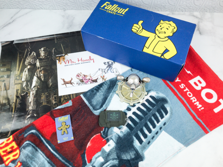Loot Crate Fallout Crate August 2018 Review + Coupon - hello subscription