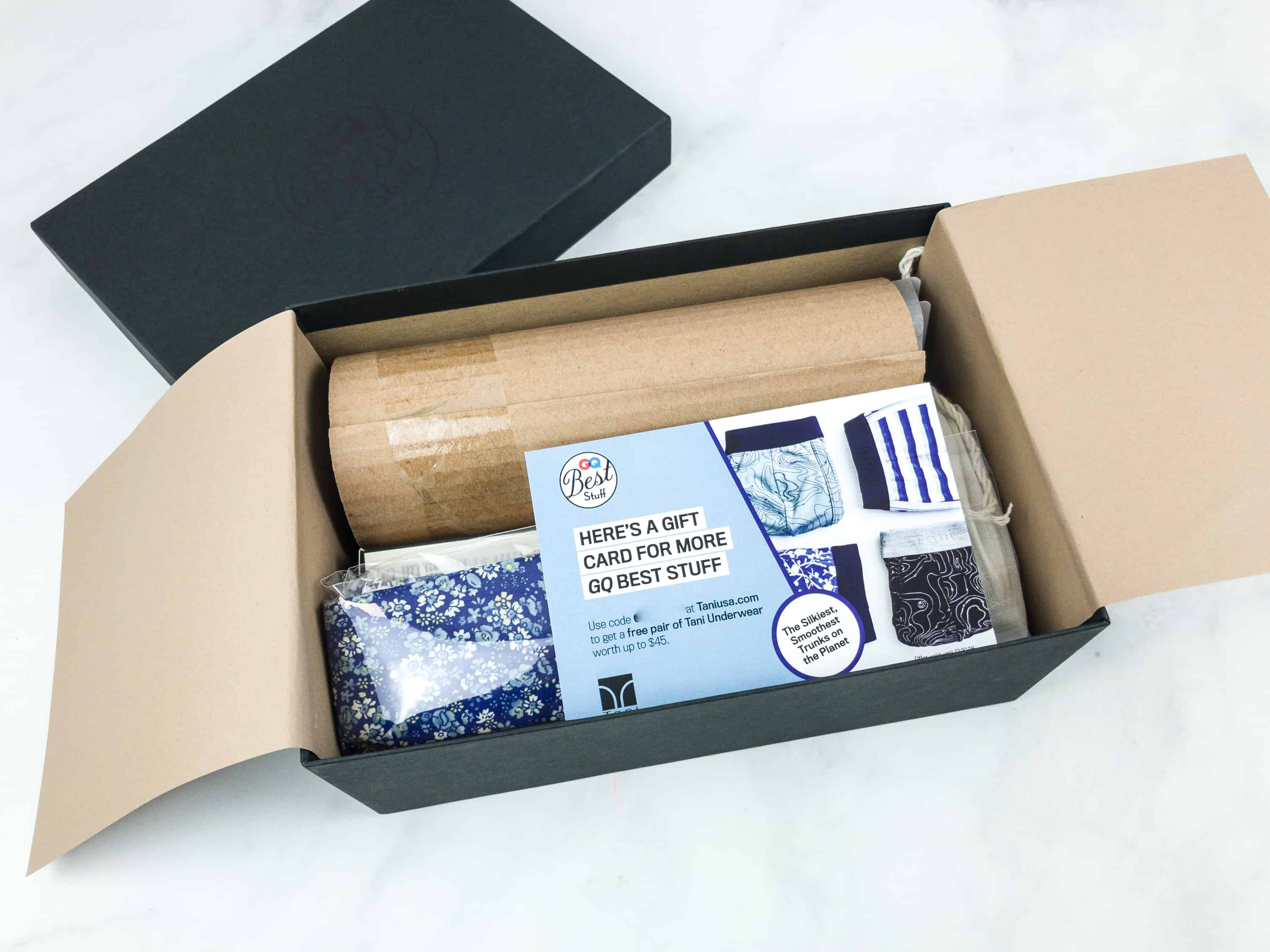 All the items are neatly placed inside the box, most being included in their full original packaging.