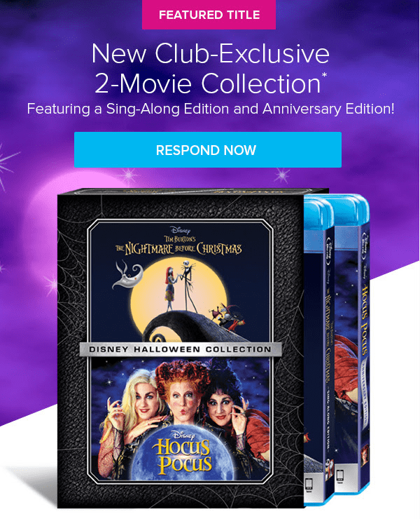Disney Movie Club October 2018 Selection Time + Coupon!