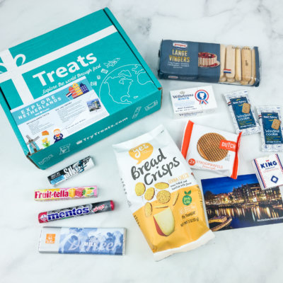 Treats Snack Box Cyber Monday Deal: 20% Off Subscriptions!