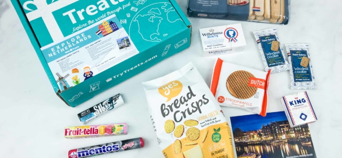 Treats Box September 2018 Review & Coupon