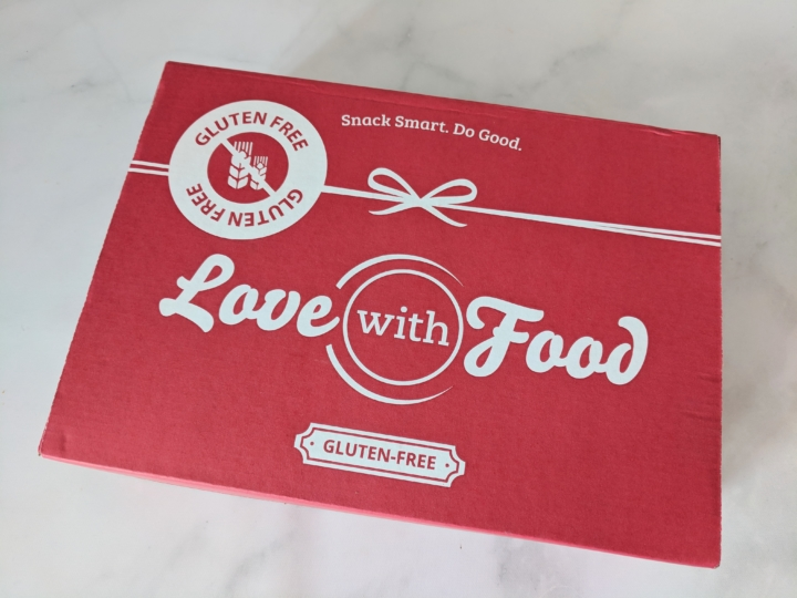 Love With Food Gluten-Free September 2018 Subscription Box Review + Coupon - hello subscription