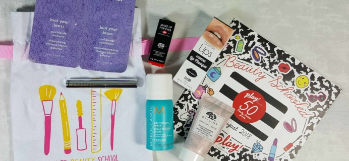 PLAY! by Sephora Subscription Box Review – August 2018