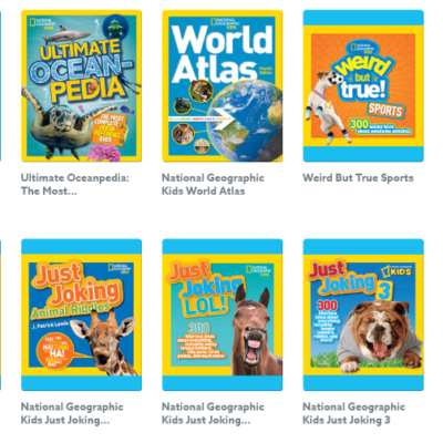 Epic! Kids Books – New National Geographic Books Collection + Free Month Coupon!