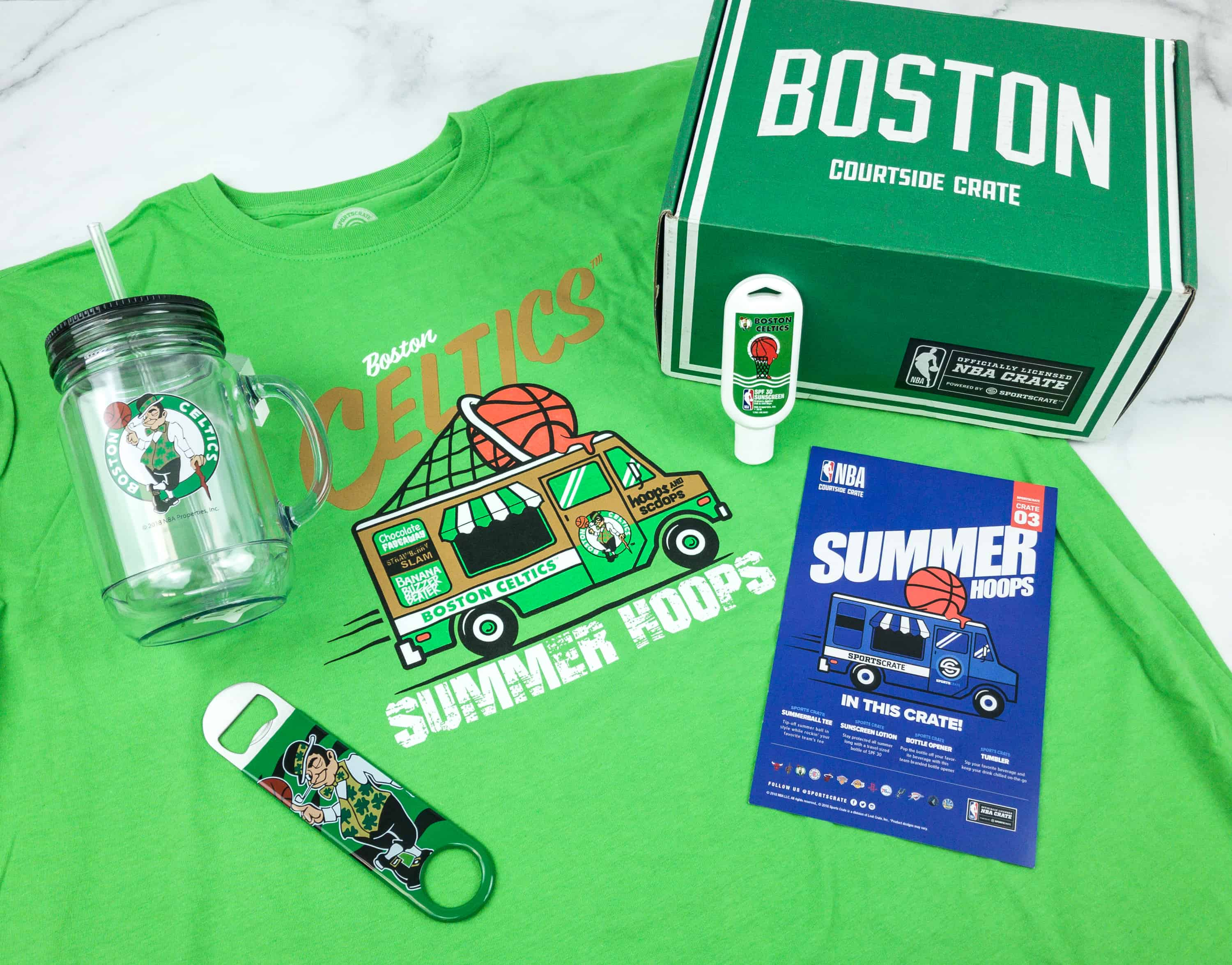 Courtside Crate by Sports Crate: NBA Edition June 2018 Subscription Box Review + Coupon
