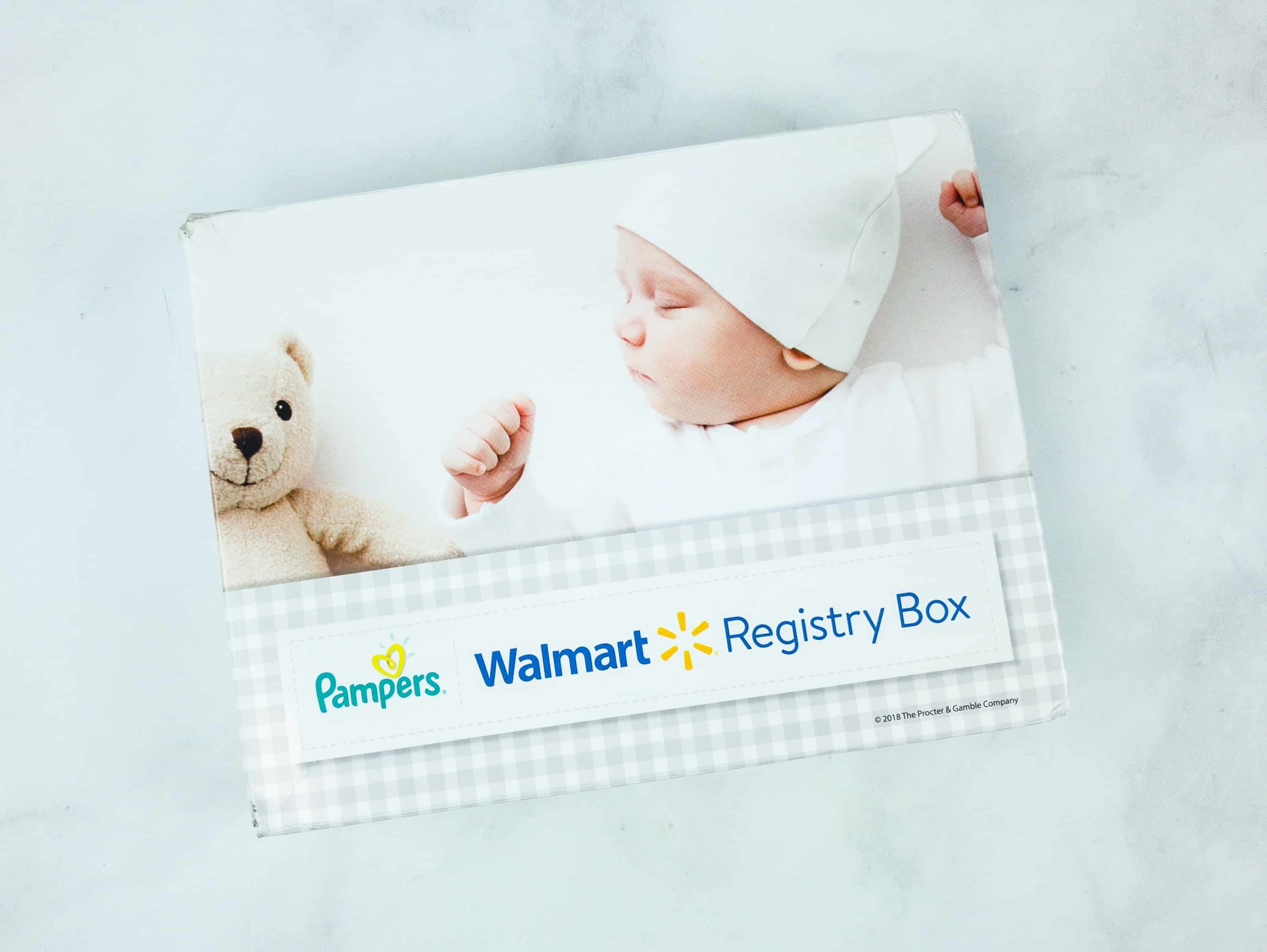 FREE Walmart Baby Registry Welcome Box Fall 2018 Subscription Box