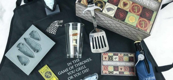 Game of Thrones Box Cyber Monday Coupon: Save 25% Off Your First Box!