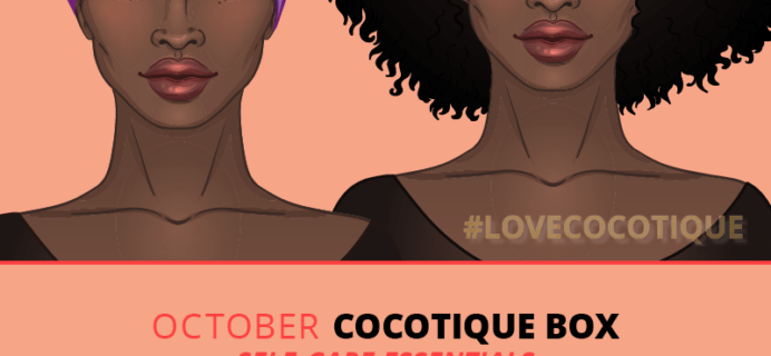 Cocotique October 2018 Spoilers + Coupon!