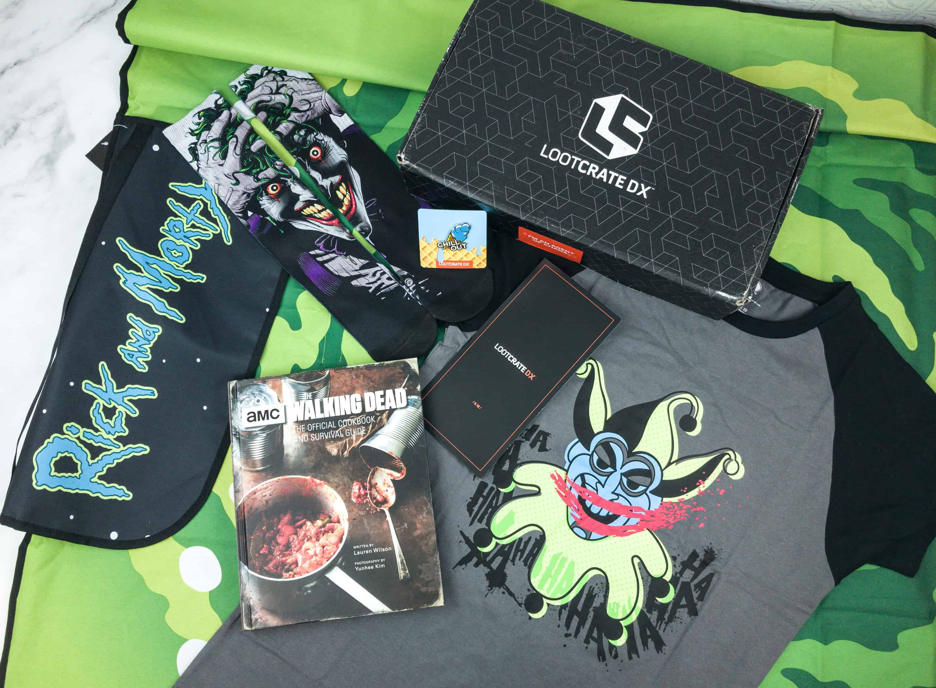 Loot Crate DX August 2018 Subscription Box Review & Coupon