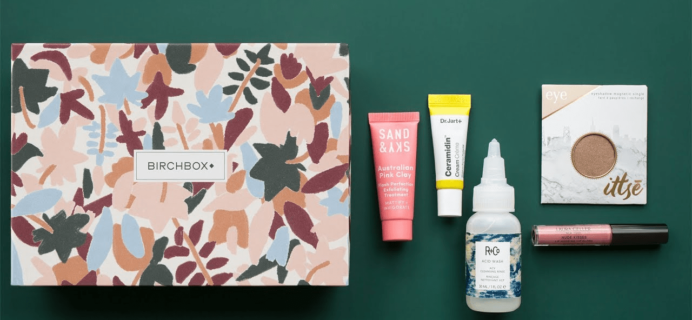 Birchbox October 2018 Spoilers & Coupon – Sample Choice and Curated Box
