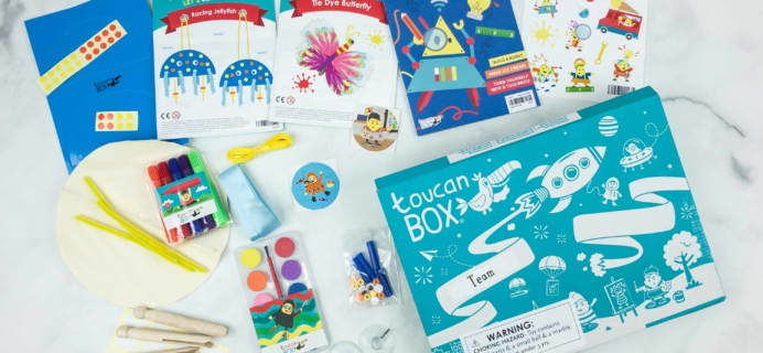 toucanBox September 2018 Subscription Box Review + Free Box Coupon