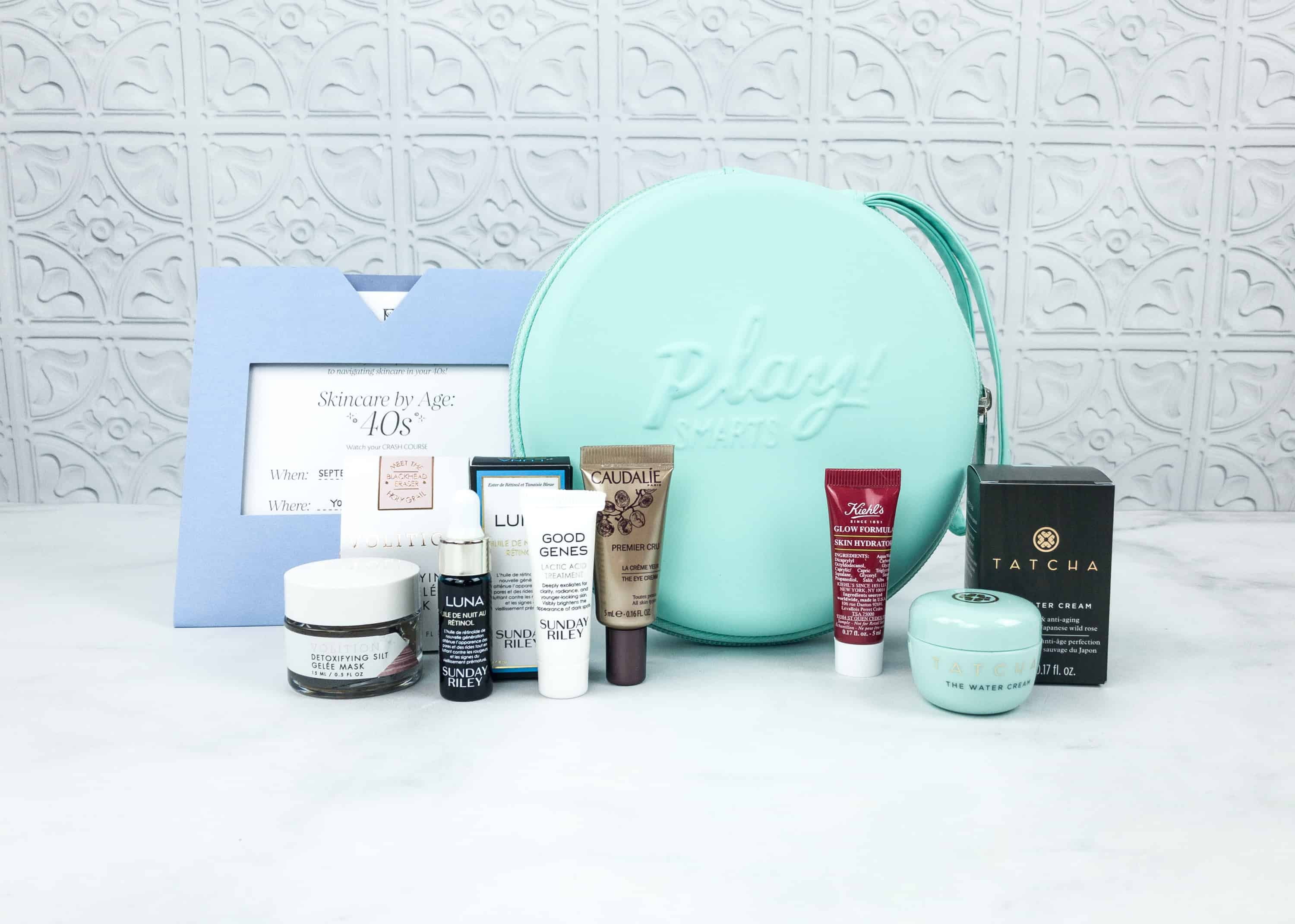 Sephora PLAY! SMARTS Skincare By Age 40 Box Review