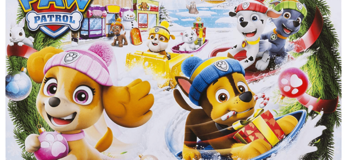 2018 Paw Patrol Advent Calendar $14.99 TODAY ONLY!